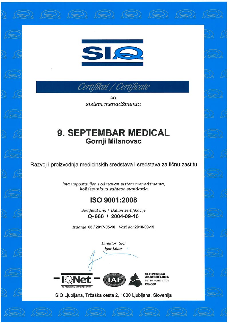 ISO-13485-IQNet